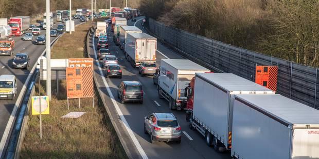 Saint-Ghislain: importants embarras de circulation sur la E19 - La DH
