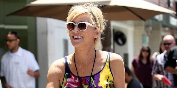 Sharon Stone au naturel dans le Elle - La DH