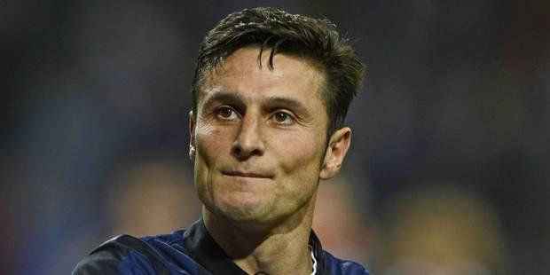 """Le vice-président de l'Inter Milan Javier Zanetti """"lié à vie"""" au club - La DH"""