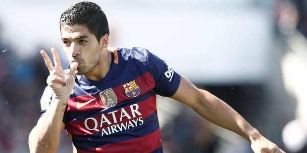 Luis Suárez décroche le Soulier d'or européen - La DH
