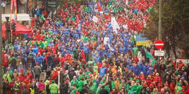 10.000 personnes attendues mardi à Bruxelles: le point sur les perturbations à prévoir en Wallonie et dans la capitale -...