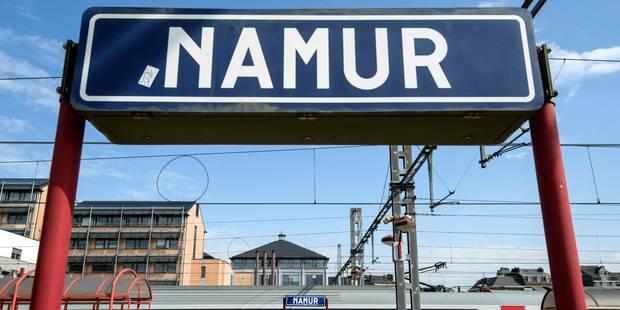 Environ 300 à 350 manifestants de la CGSP dans les rues de Namur et Jambes, une arrestation administrative - La DH