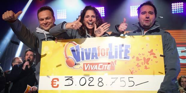 """""""Viva for Life"""" à nouveau à Charleroi en décembre - La DH"""