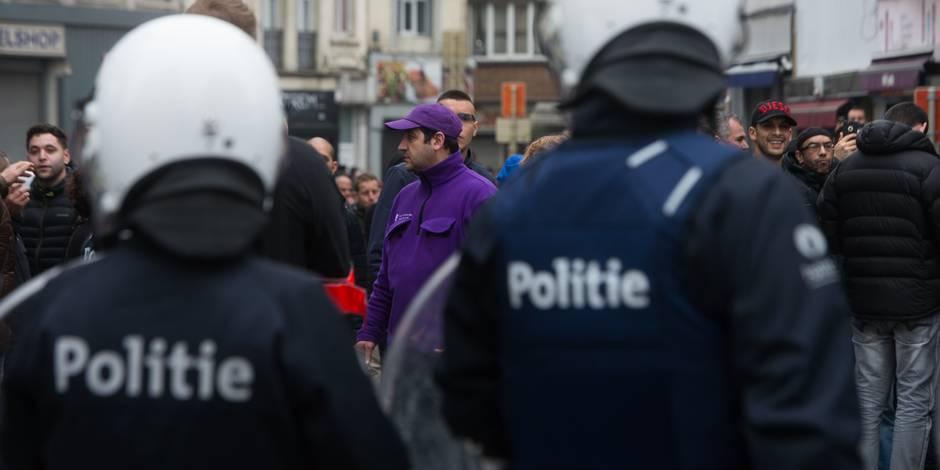 La police menace de partir en grève à son tour ! - La DH