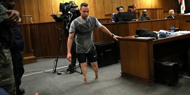 Pistorius sur ses moignons pour émouvoir ses juges (VIDEO) - La DH