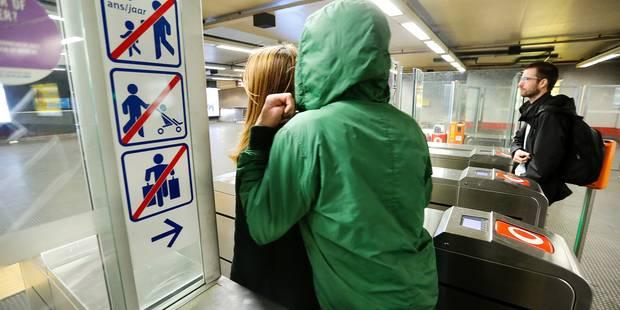 STIB: 55 plaintes enregistrées pour tailgating en 2015 - La DH