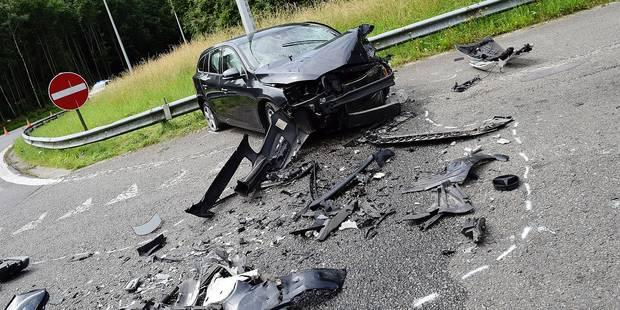 Grave accident après une course-poursuite - La DH