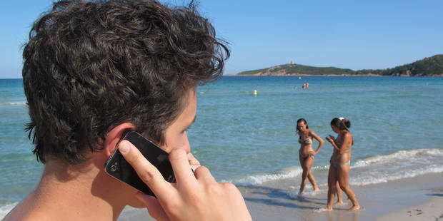 Roaming: l'utilisation du GSM en vacances double déjà ! (INFOGRAPHIE) - La DH