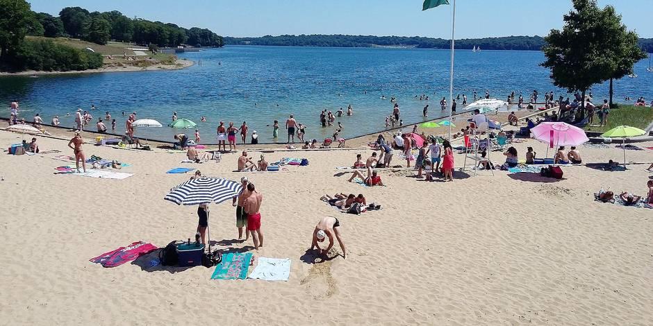 P nurie de ma tres nageurs aux lacs de l eau d heure la dh for Meteo salon de provence heure par heure