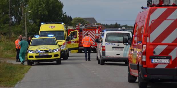 Un mort et deux blessés lors d'une collision frontale à Froidchapelle - La DH