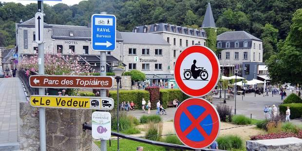 Fin de l'interdiction pour les motos à Durbuy - La DH