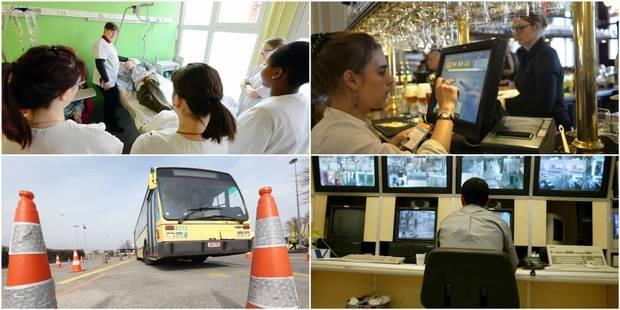 Le top 10 des métiers les plus recherchés à Bruxelles et en Wallonie (TABLEAUX) - La DH