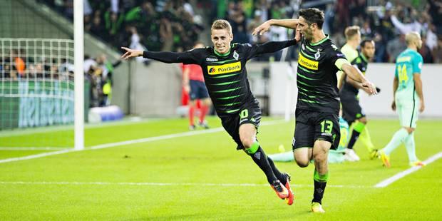 Thorgan Hazard absent contre le Celtic - La DH