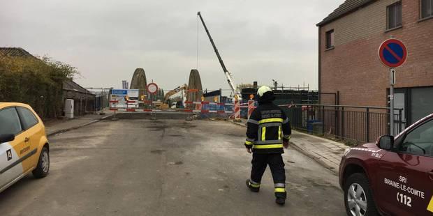 Braine-le-Comte : la fuite de gaz a paralysé le trafic ferroviaire et provoqué l'évacuation d'un quartier - La DH
