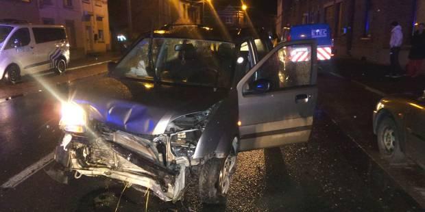 Courcelles: Le conducteur s'enfuit après un crash - La DH