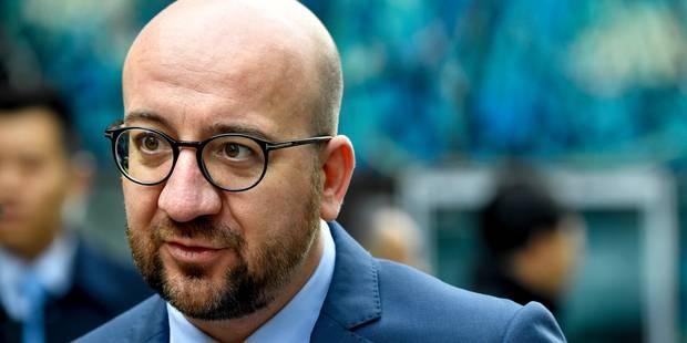 """Charles Michel dénonce les propos """"absurdes"""" d'Erdogan - La DH"""