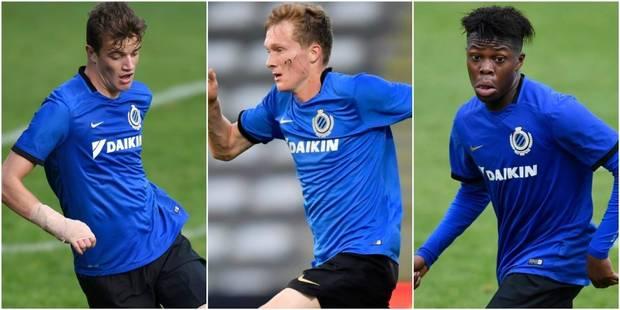 Bruges prolonge les contrats de Terry Osei-Berkoe, Thibault Vlietinck et Niels Verburgh - La DH