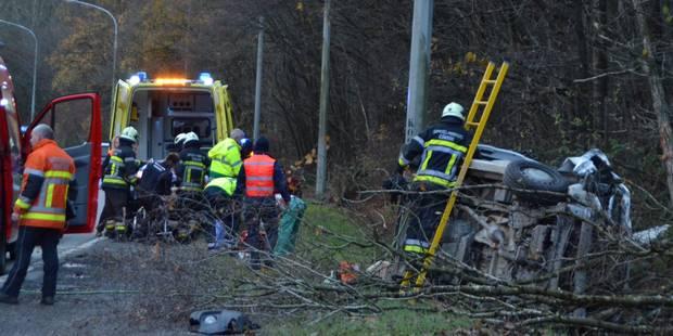 Philippeville: Violent accident sur la N5 à Roly - La DH