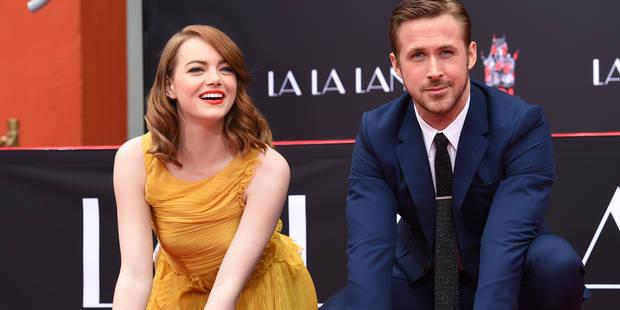 Grand moment à Hollywood entre Ryan Gosling et Emma Stone ! - La DH