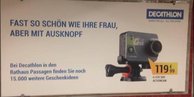 Une pub sexiste de Décathlon fait scandale en Allemagne - La DH