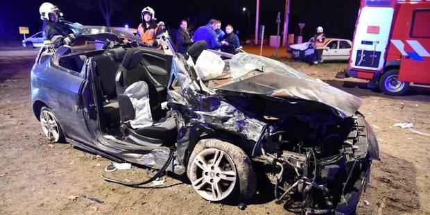 Saint-Ghislain : quatre blessés dans un carambolage impliquant trois voitures - La DH