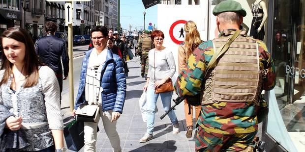 81 % des Belges font confiance à leur armée - La DH