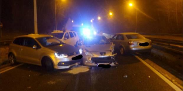 Un conducteur fantôme provoque une collision en chaîne à Lodelinsart (PHOTOS) - La DH