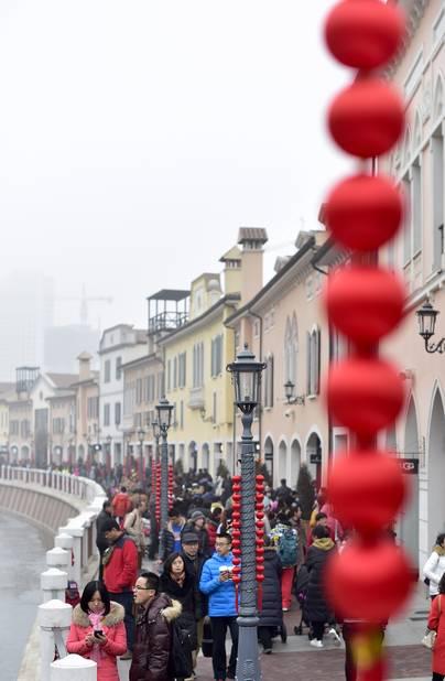 En plus d'être un lieu plein de vie et de restaurants, Italian town est aussi le plus vieux quartier de Tianjin ayant survécu au tremblement de terre dévastateur du début du siècle.