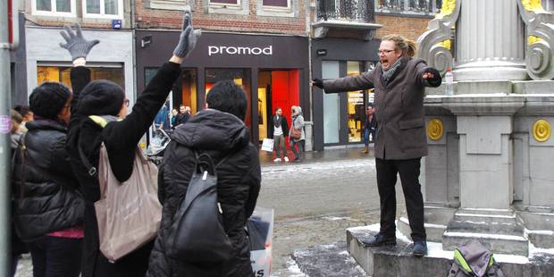 Crieur public : une première à Namur - La DH