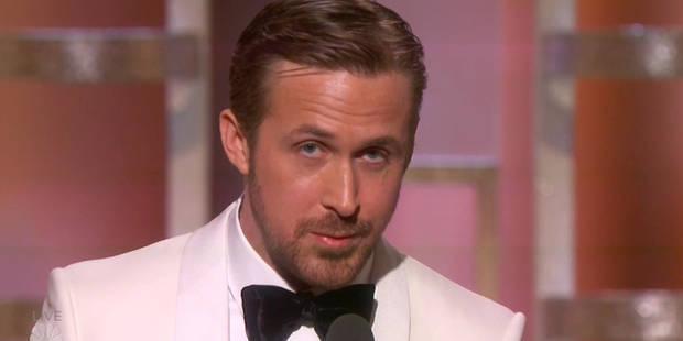 Ryan Gosling aux Golden Globes clame son amour fou pour sa femme Eva Mendes - La DH
