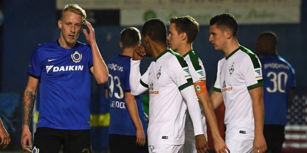 Le Club Bruges fait match nul contre le Werder Brême au stage en Espagne - La DH
