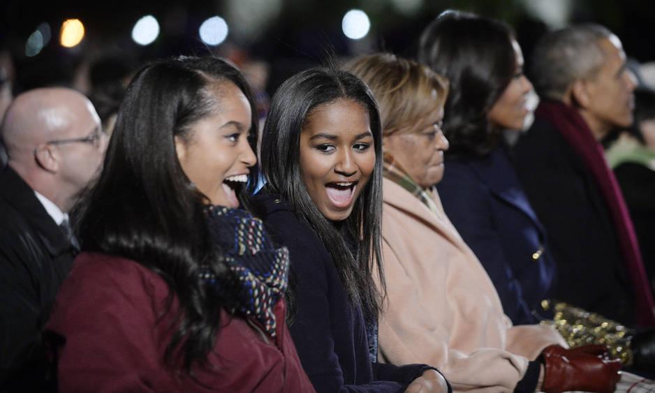 Célébration des lumières de Noël à la Maison Blanche, 2015