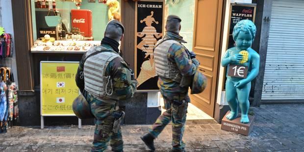 Le conseil des ministres prolonge à nouveau la présence de militaires en rue - La DH
