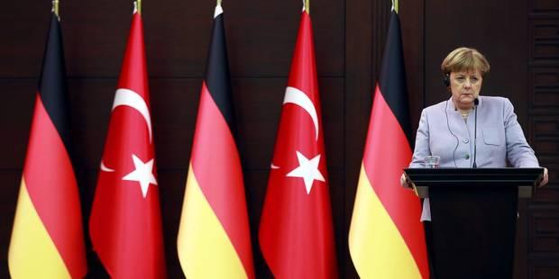 """Merkel se fait reprendre par Erdogan pour son utilisation du terme """"terrorisme islamiste"""" - La DH"""