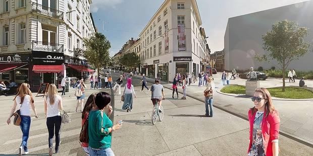 Les 6 scenarii de mobilité pour la chaussée d'Ixelles - La DH