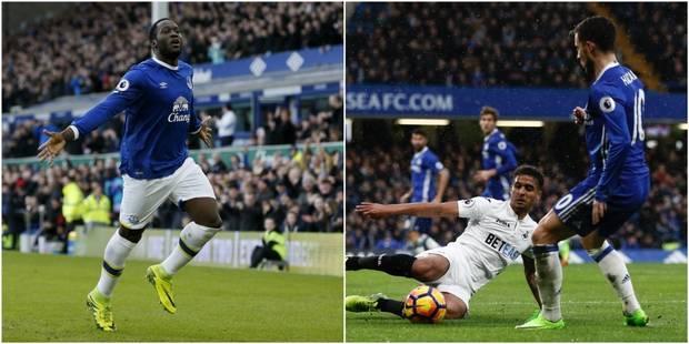 Belges à l'étranger: Lukaku buteur, Eden Hazard à l'assist (VIDEOS) - La DH