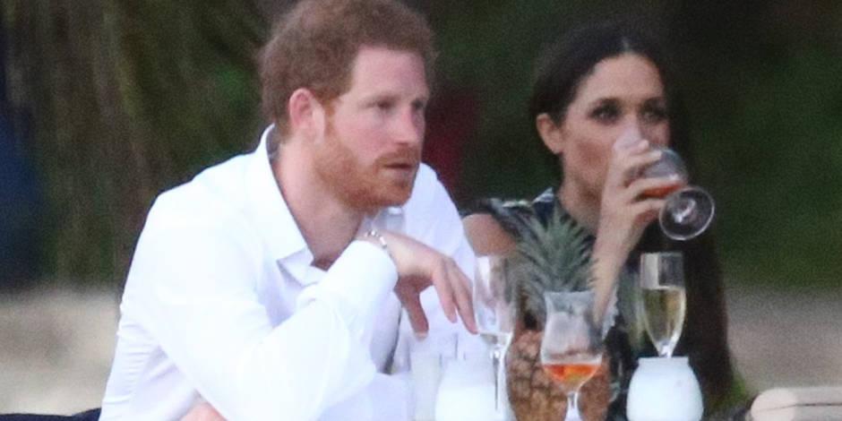 En Photos   Le Prince Harry Et Meghan Markle Tr U00e8s Amoureux