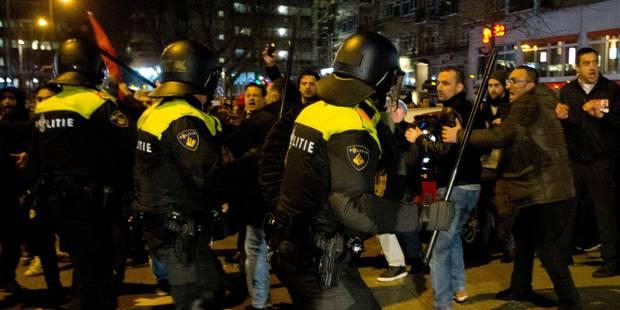 Crise entre la Turquie et les Pays-Bas: le centre de Rotterdam évacué (PHOTOS) - La DH