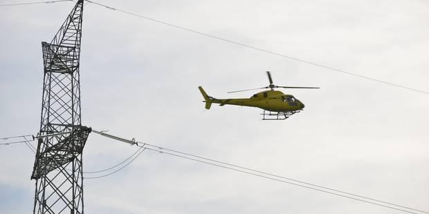 Remi se fait déposer sur son lieu de travail en hélicoptère grâce à Radio Contact - La DH