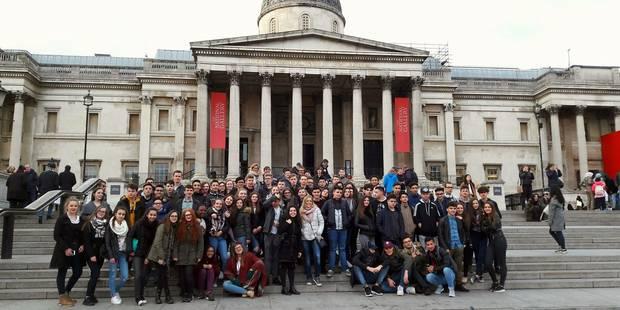 Morlanwlez : La fin du voyage scolaire à Londres chamboulée - La DH