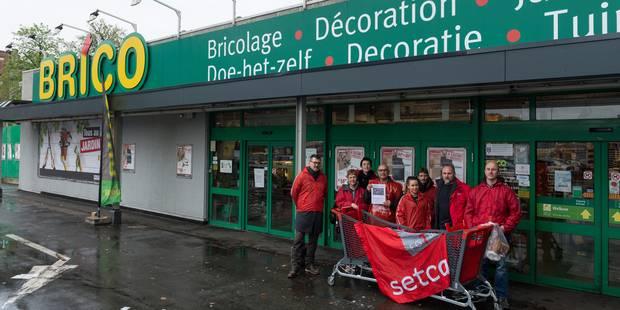 La plupart des magasins Brico en grève pour le week-end - La DH