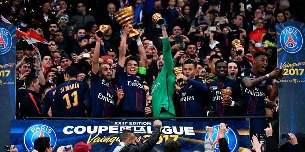 Le PSG écrase Monaco (1-4) et remporte la Coupe de la Ligue (VIDEOS) - La DH