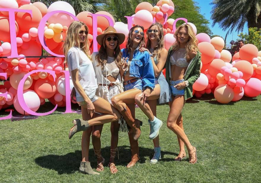 Les Anges de Victoria's Secret.