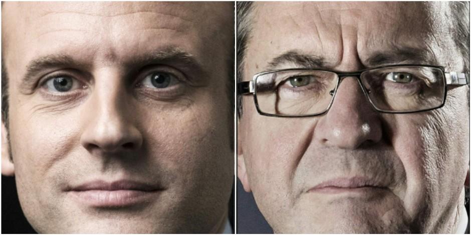 Le patron de l'institut de sondage Dedicated prédit un duel Macron-Mélenchon au second tour - La DH