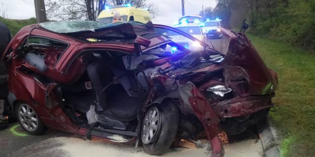Poteau percuté : deux blessés à Gouy-lez-Piéton - La DH