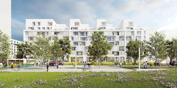 Anderlecht: Un nouveau quartier en construction le long du canal - La DH