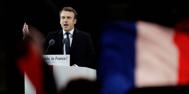 """Emmanuel Macron élu avec 66,06% de voix : """"Je ne me laisserai arrêter par aucun obstacle"""" - La DH"""