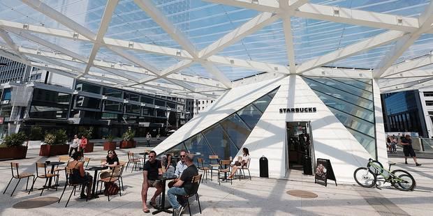 Le premier Starbucks Evenings du pays sur la place Rogier - La DH
