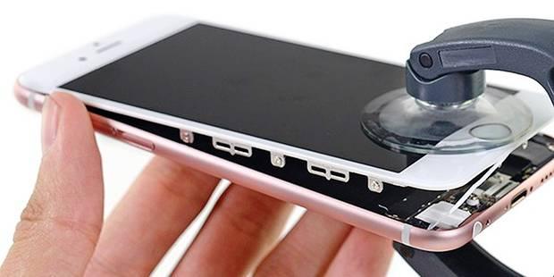 Comment Apple fait du lobbying pour que ses iPhone restent irréparables (ou réparables par elle seule) - La DH