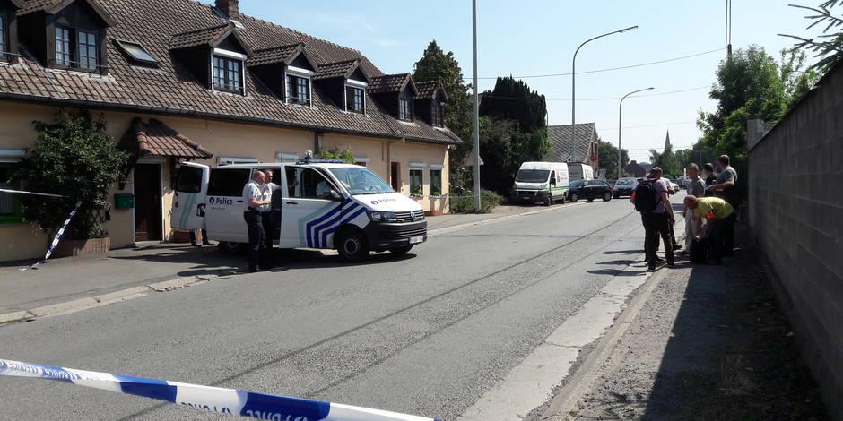Coups de feu à la rue de Douvrain — Ghlin